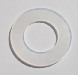 Penrex Plastic Poly Washer 1/2 inch Nylon - Pack of 10 - 54001670